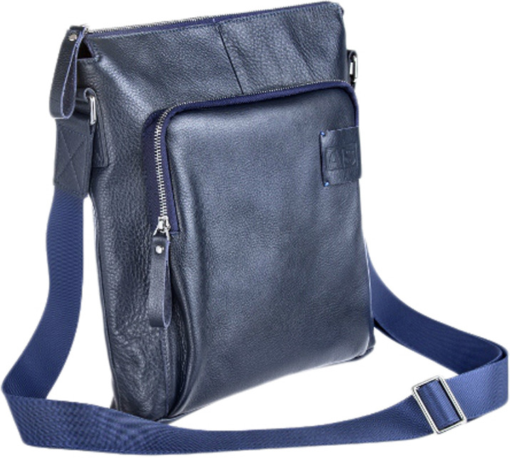 Сумка-планшет мужская Alexander-ts, P0012 Blue, синий