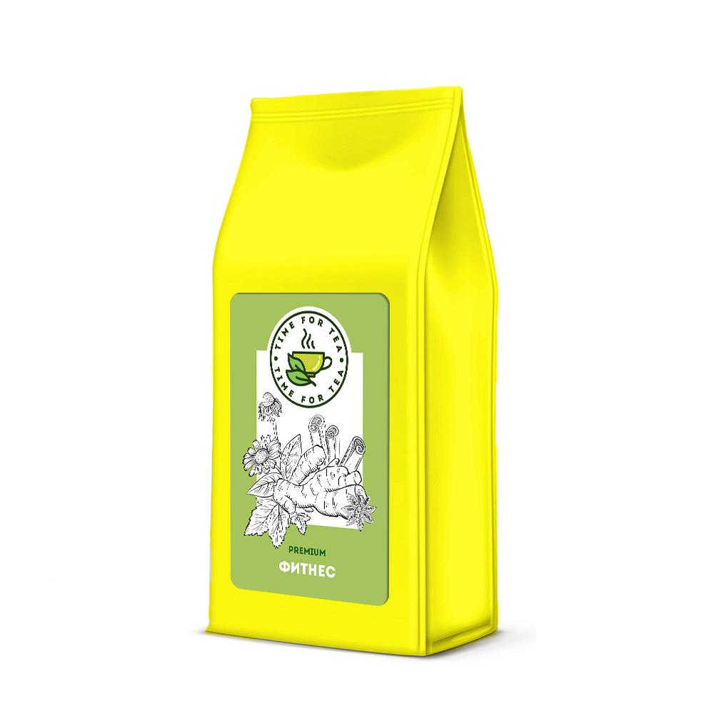 Чай листовой Время Чая Фитнес PREMIUM, 250 чай листовой время чая клубничный eco premium 250