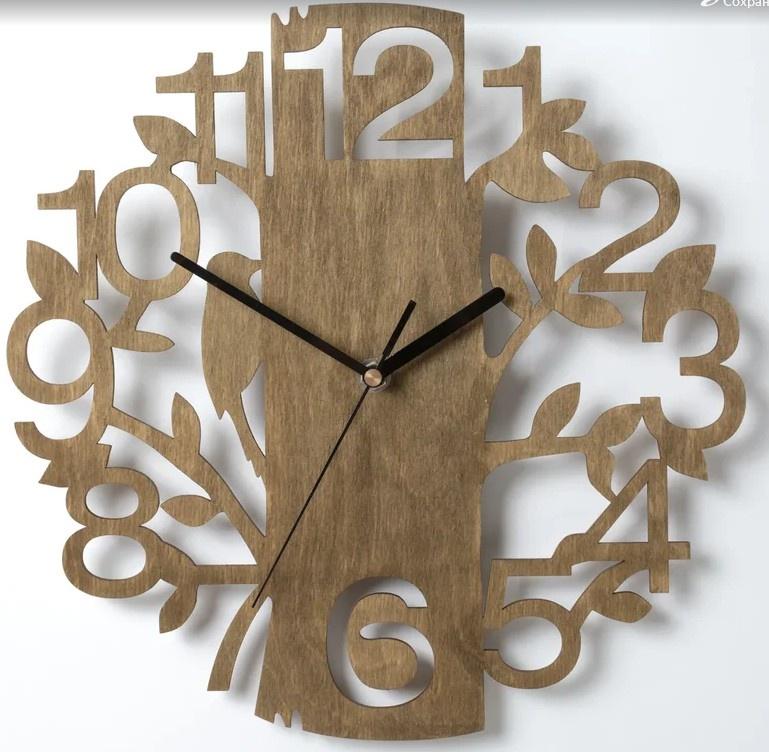 Настенные часы Вега Часы настенные из фанеры Ф1-5