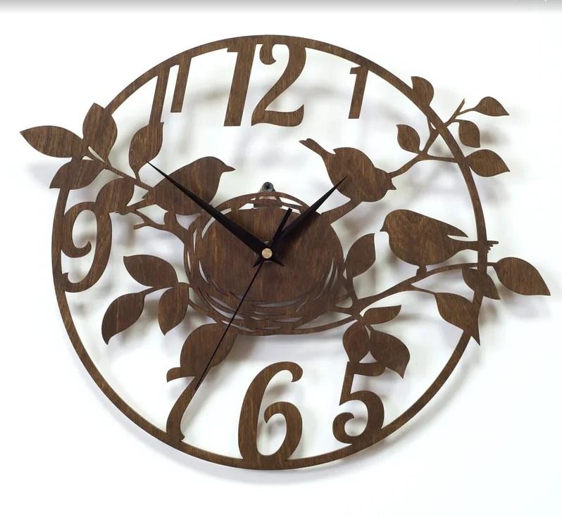 Настенные часы Вега Часы настенные из фанеры Ф1-1