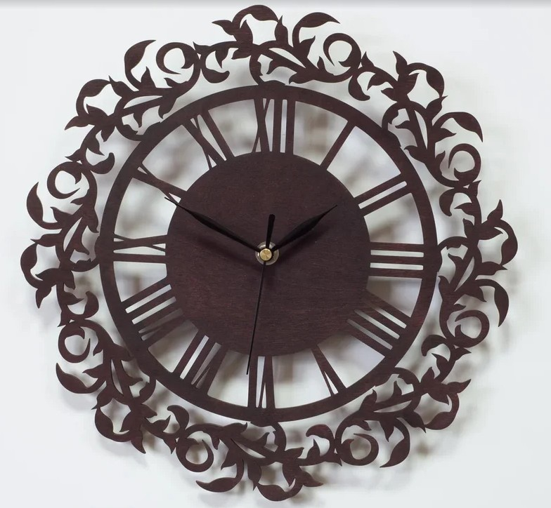 Настенные часы Вега Часы настенные из фанеры Ф1-2