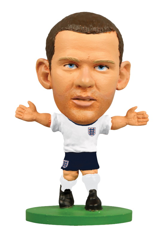 Фигурка SoccerStarz футболиста Сборная Англии England Wayne Rooney, 400414 wayne rooney wayne rooney my 10 greatest moments in the premier league