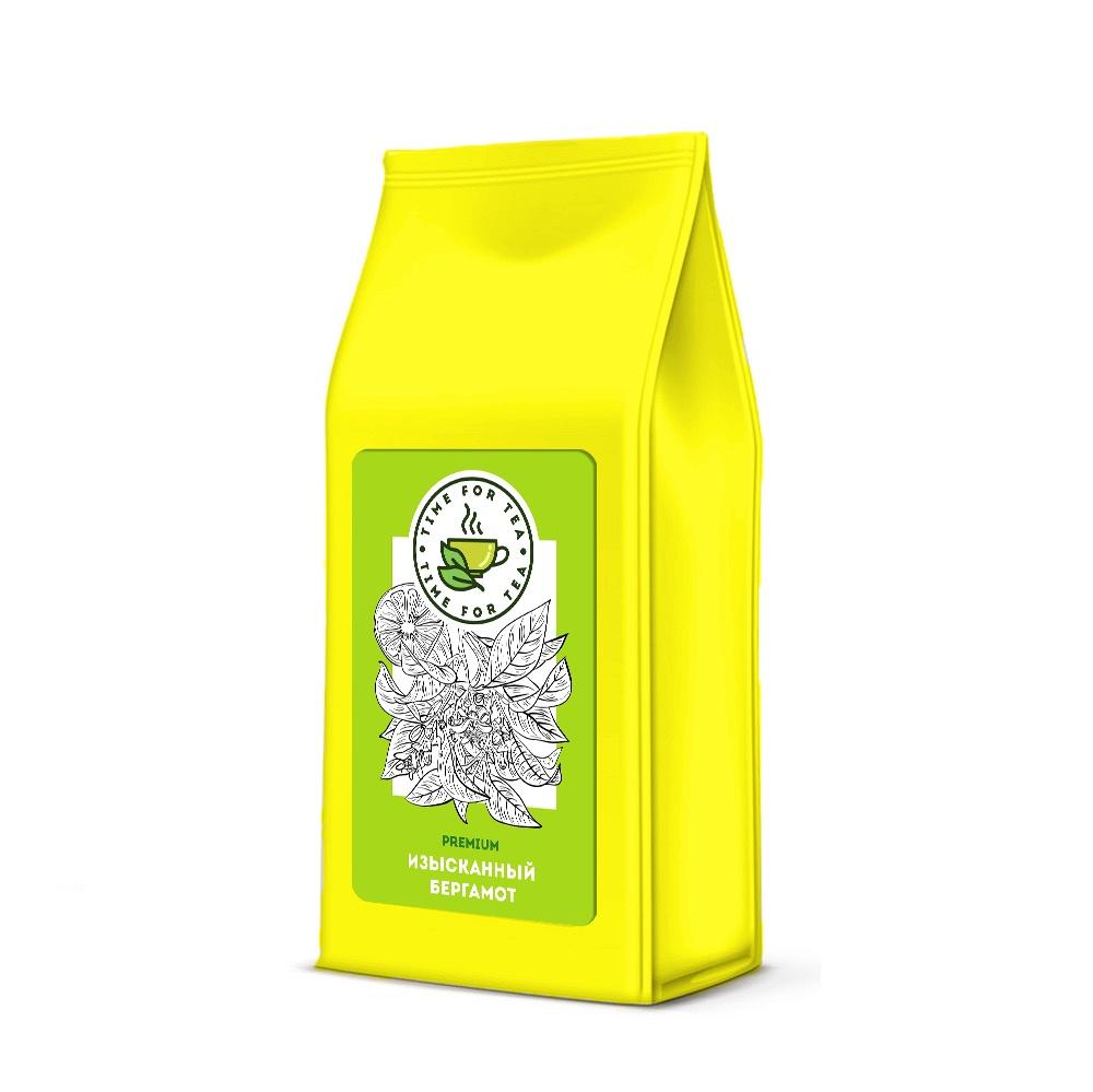 Чай листовой Время Чая Изысканный Бергамот PREMIUM, 250 чай листовой время чая клубничный eco premium 250