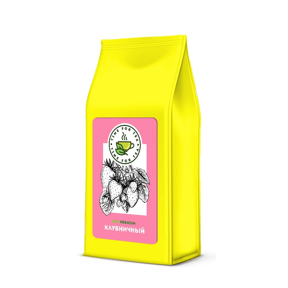 Чай листовой Время Чая Клубничный ECO PREMIUM, 250 чай листовой время чая клубничный eco premium 250