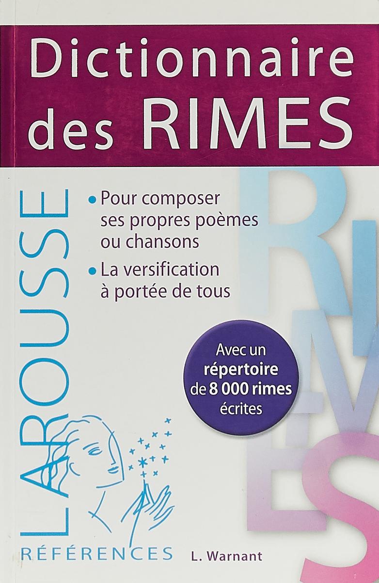 Dictionnaire des Rimes le francais par mots croises 2 dvdrom