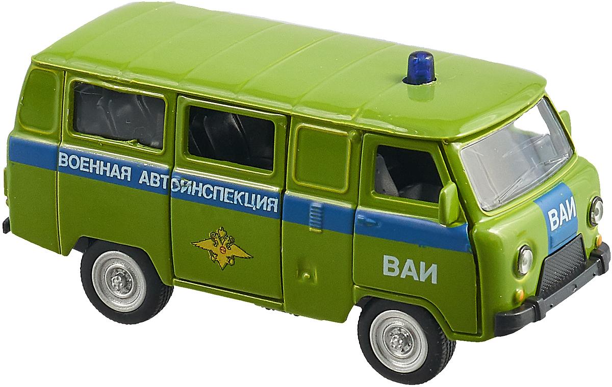 Машинка инерционная Play Smart Военная автоинспекция, Р41135 машинка инерционная play smart зил огнеопасно р49222
