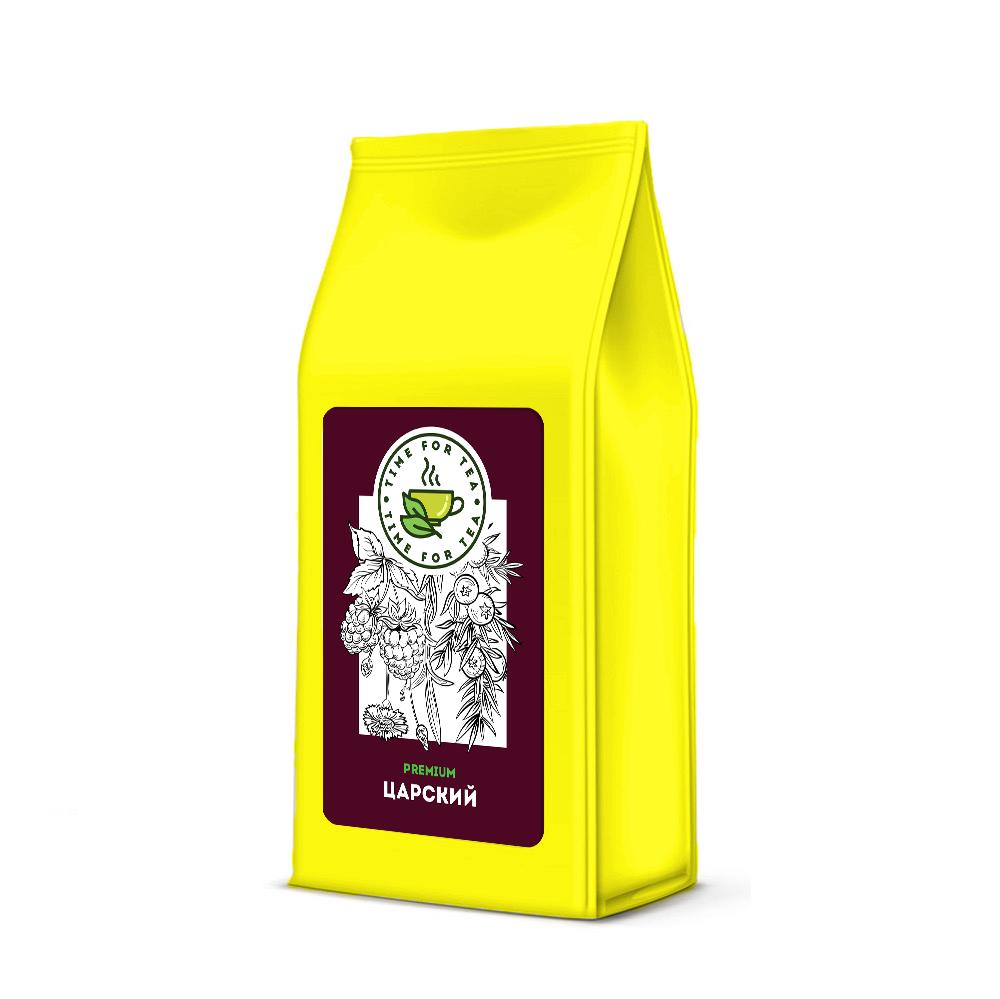 Чай листовой Время Чая Царский PREMIUM, 250 чай листовой время чая клубничный eco premium 250