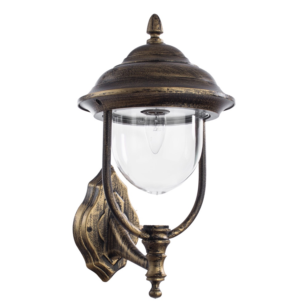 Уличный светильник Arte Lamp A1481AL-1BN, черный уличный подвесной светильник arte lamp genova a1205so 1bn