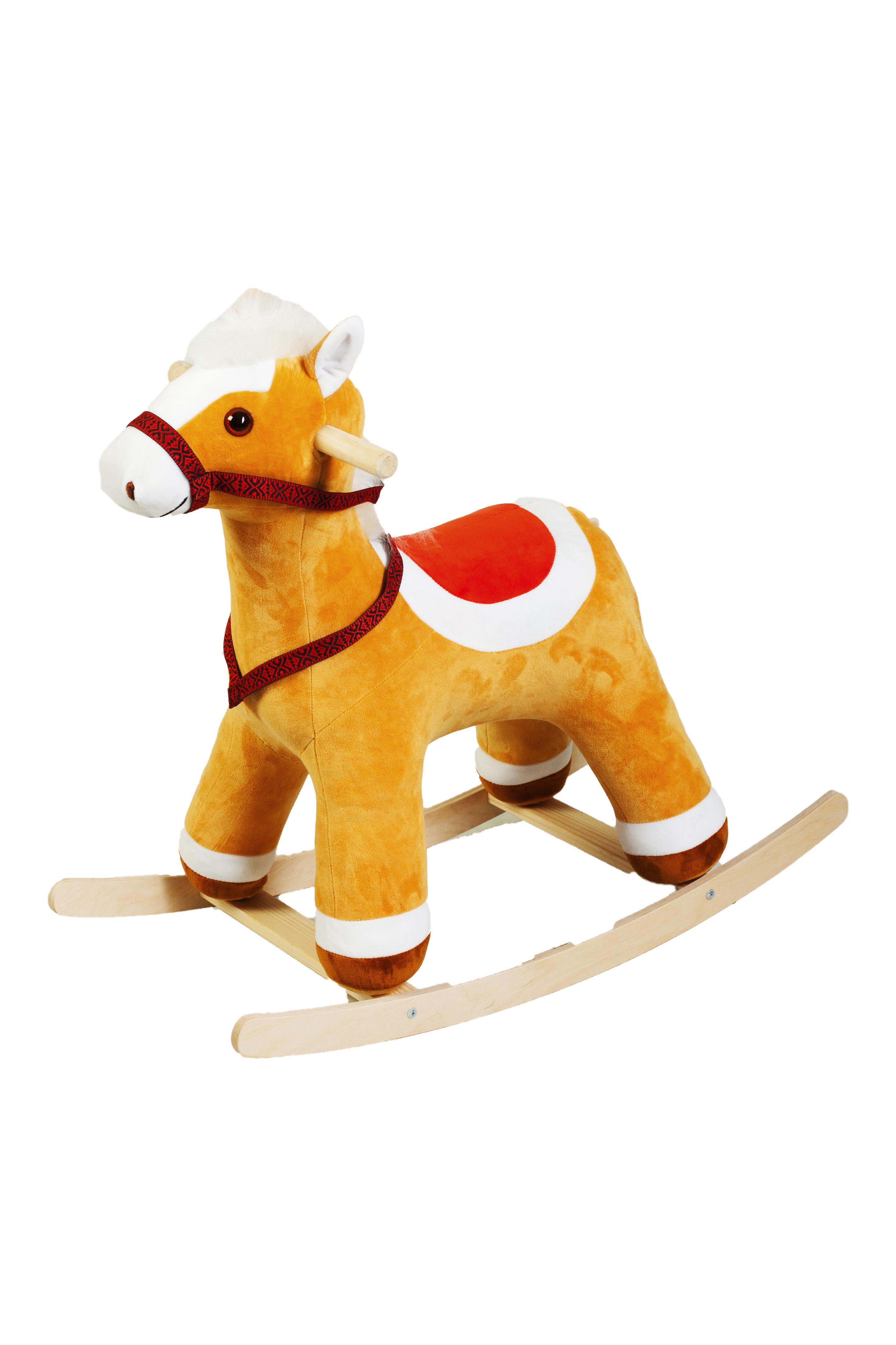 Качалка ToysGo.ru Лошадка коричневый (1081)