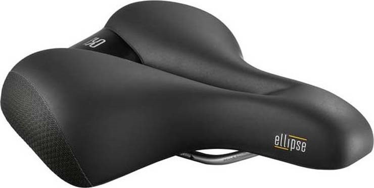 Седло велосипедное Selle Royal Elllipse Relaxed, Unisex, гель + эластомер