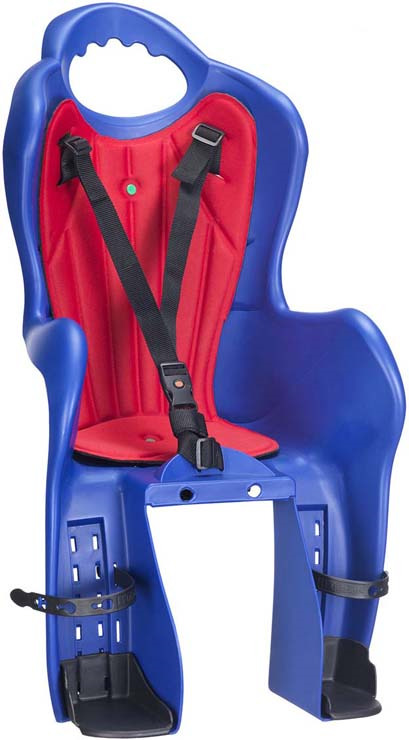 Велокресло детское на багажник HTP Design Elibas P, синий витамины 5 htp