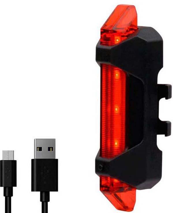 Велофонарь задний Briviga USB 15 задний габаритный фонарь с зарядкой topeak redlite mini usb tms078
