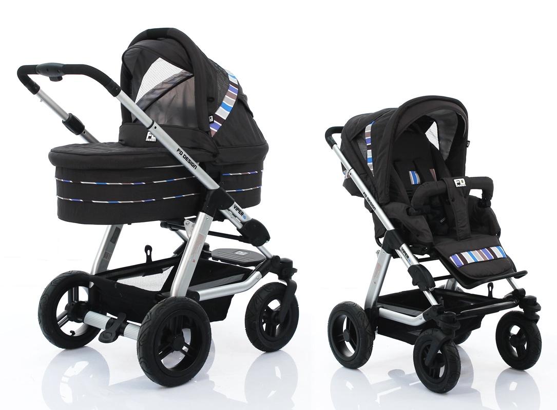 Коляска универсальная FD-Design Viper 4S коляска 2 в 1 fd design viper 4s pearl