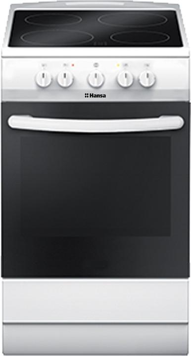 Плита электрическая Hansa FCCW53040, белый цена и фото