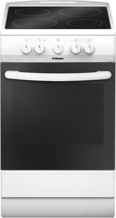 Плита электрическая Hansa FCCW54040, белый