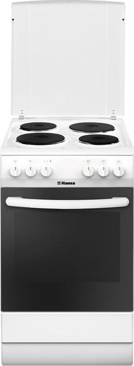Плита электрическая Hansa FCEW54140, белый Hansa