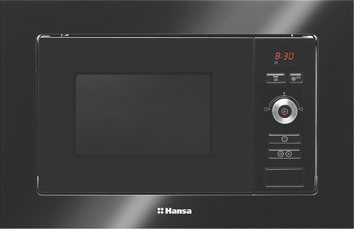 Встраиваемая микроволновая печь Hansa AMM20BESH, черный