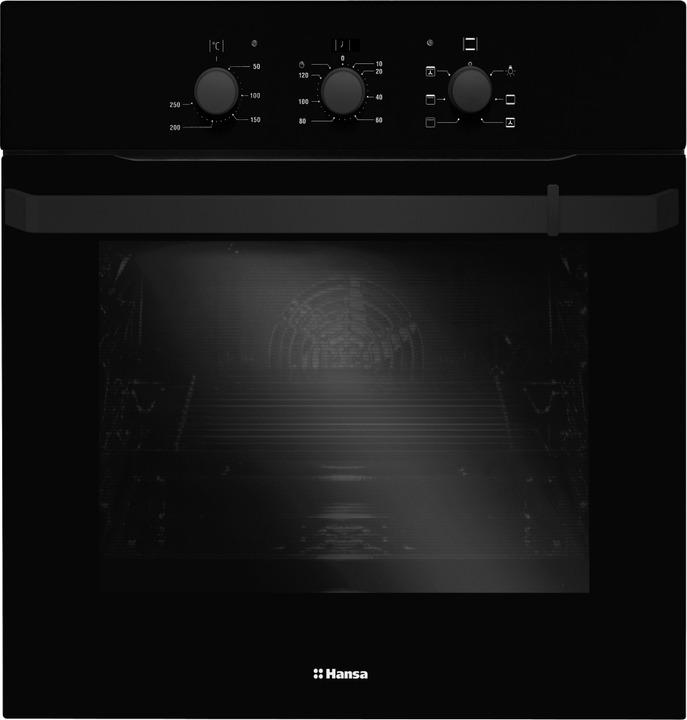 Встраиваемый духовой шкаф Hansa BOES68162, черный