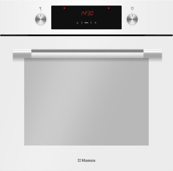 Встраиваемый духовой шкаф Hansa BOEW68441, белый