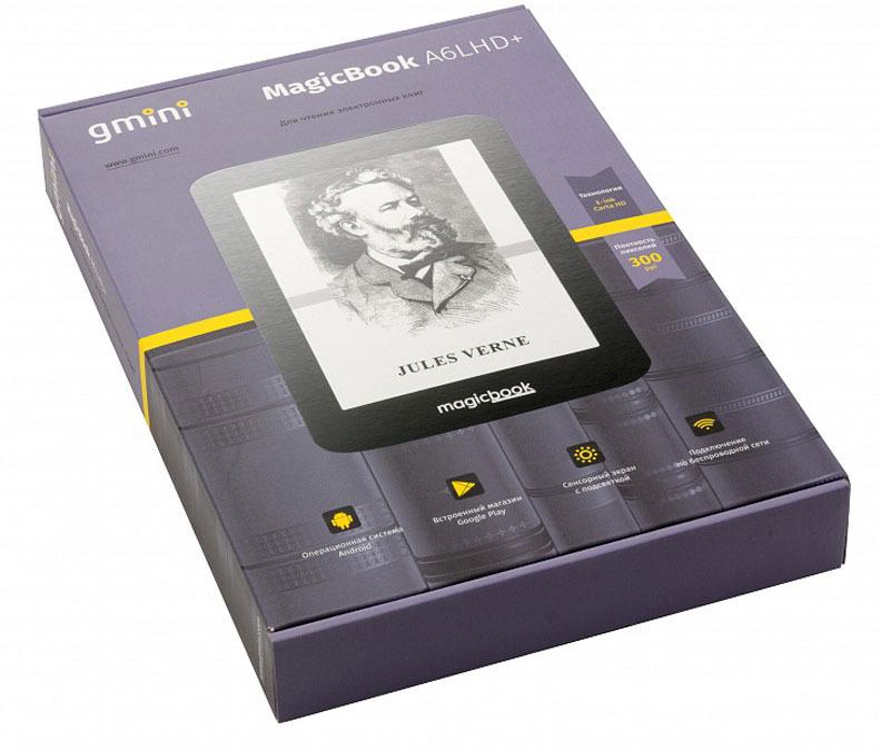 Электронная книга Gmini MagicBook A6LHD+, Black Gmini
