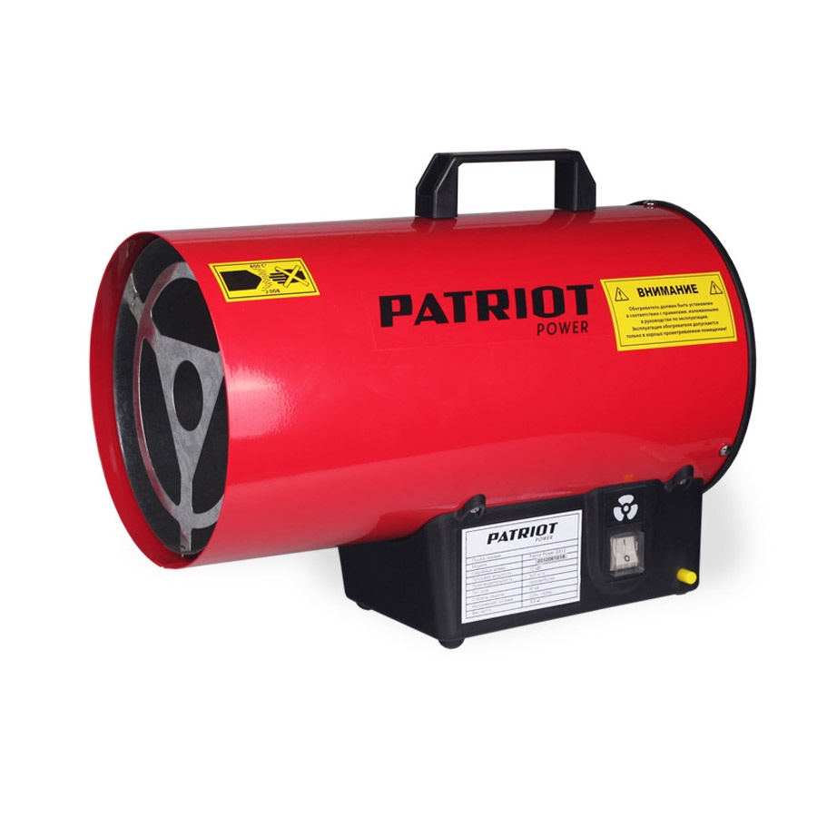 Тепловая пушка PATRIOT 6932873660477 тепловая газовая пушка master blp 53m