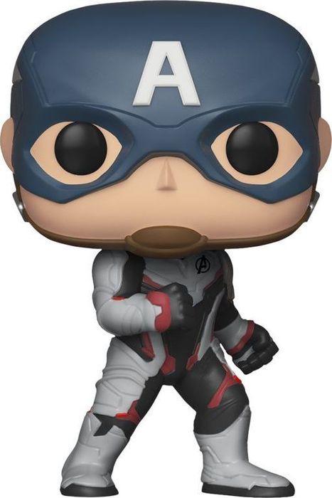 лучшая цена Фигурка Funko POP! Bobble: Marvel: Avengers Endgame: Captain America 36661