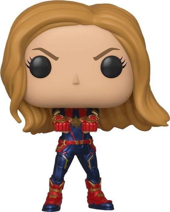 лучшая цена Фигурка Funko POP! Bobble: Marvel: Avengers Endgame: Captain Marvel 36675