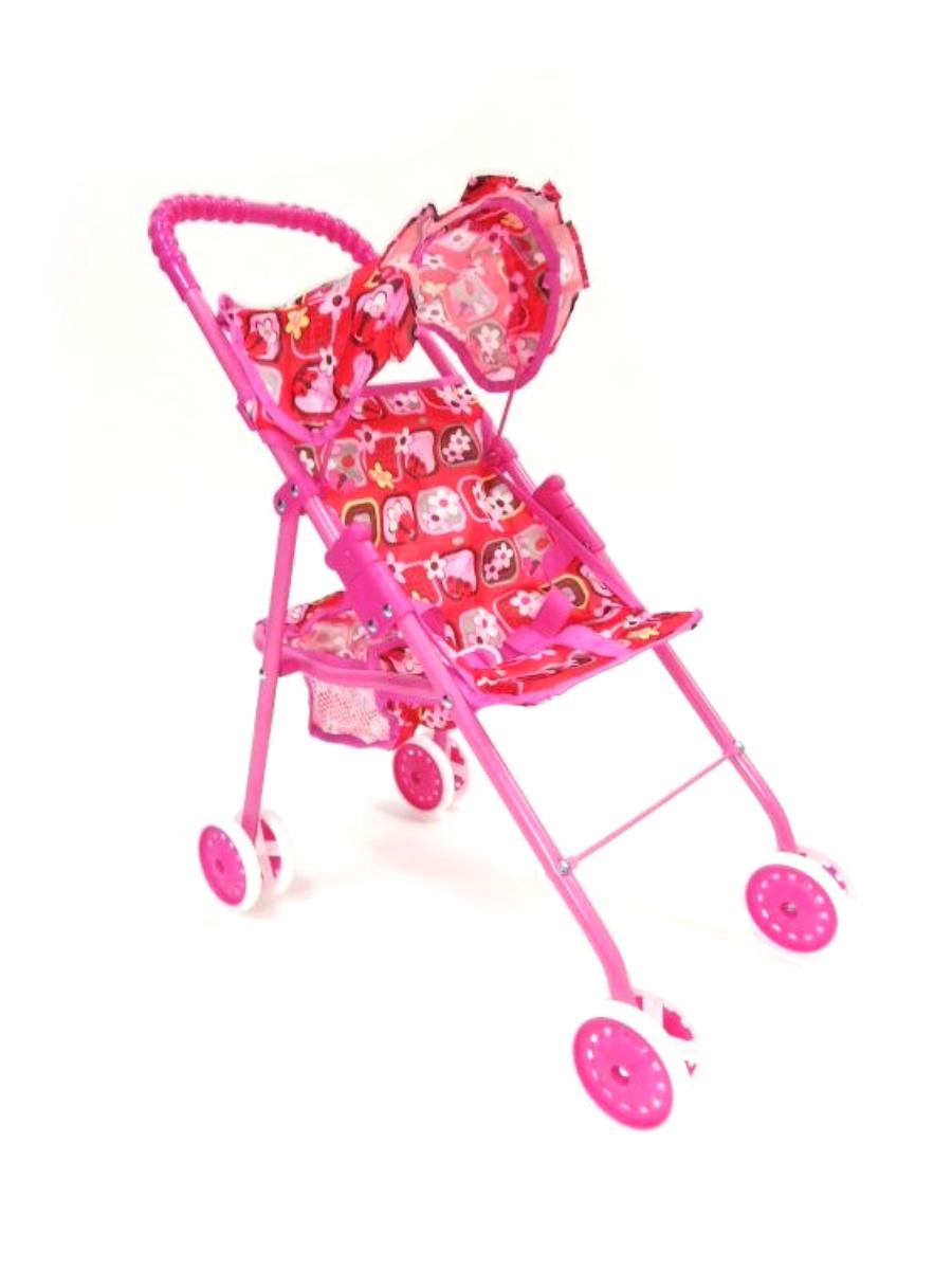 коляска для кукол Melobo 9318 розовый