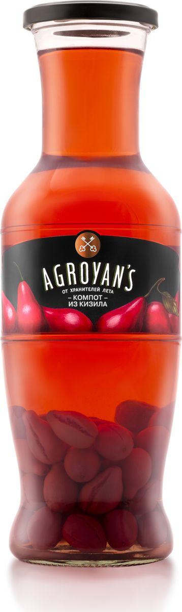 Компот Agroyan's из кизила, 1,05 кг кубань продукт компот из кизила 1 л