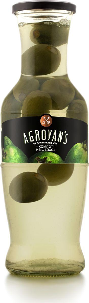 Компот Agroyan's из фейхоа, 1,05 кг azvkus из фейхоа 1л