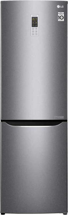 Холодильник LG GA-B419SLGL, графитовый