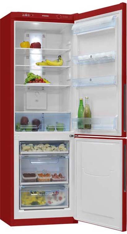 Холодильник Pozis RK FNF-170, двухкамерный, рубиновый Pozis