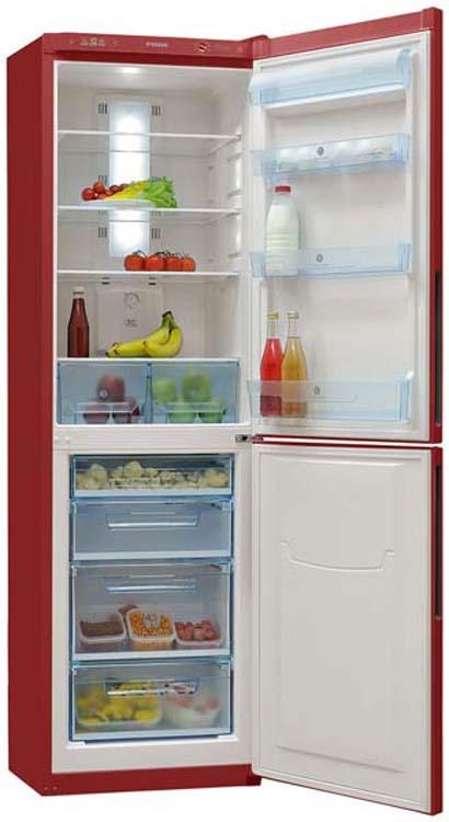 Холодильник Pozis RK FNF-172, двухкамерный,  рубиновый Pozis