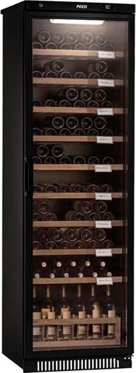 Винный шкаф Pozis ШВ-120, черный