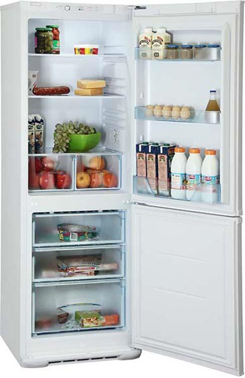 Холодильник Бирюса I 133, двухкамерный, серебристый Бирюса