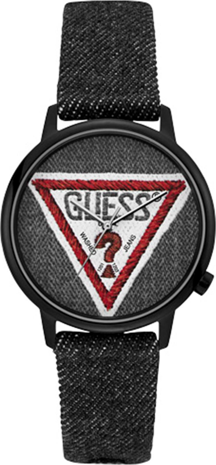 Наручные часы Guess Originals Wilshire + Grand двухшпеньковый кожаный ремень джинсовый