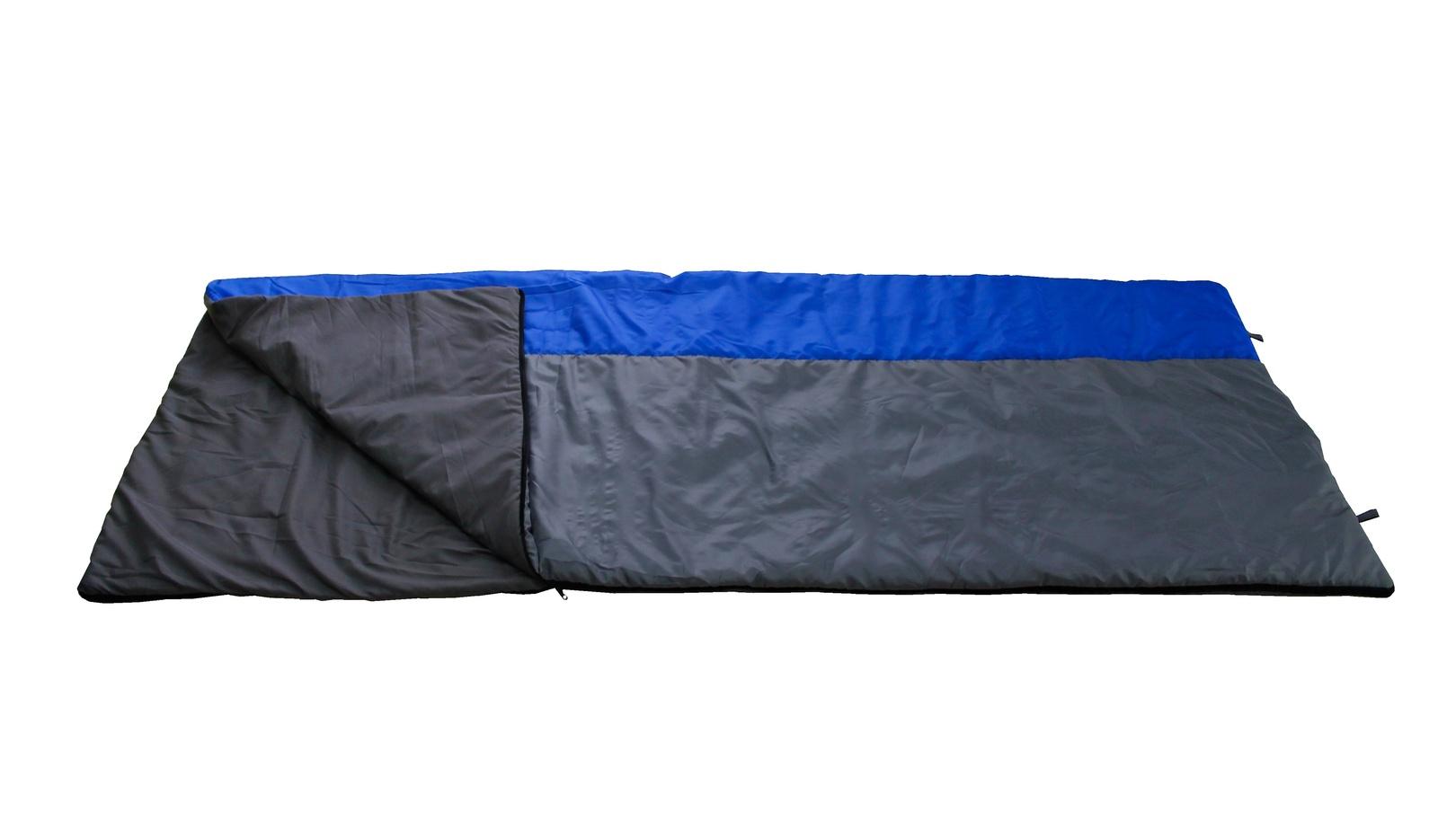 Спальный мешок ДомМой 2VS005, серый