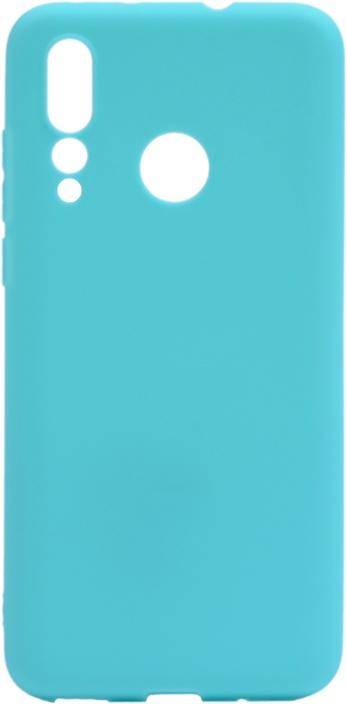 Чехол для сотового телефона GOSSO CASES для Huawei Nova 4 Soft Touch blue, голубой