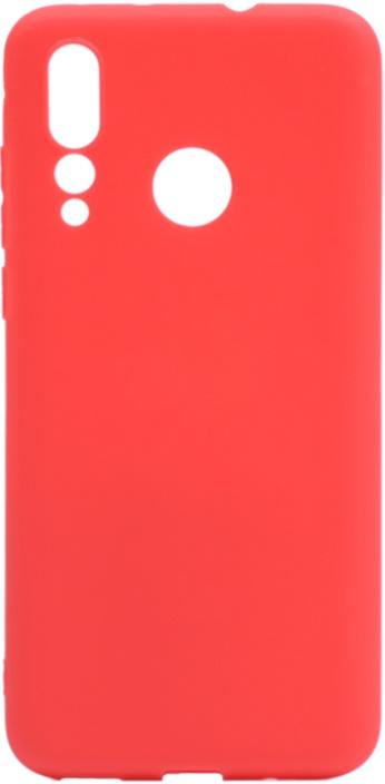 Чехол для сотового телефона GOSSO CASES для Huawei Nova 4 Soft Touch red, красный