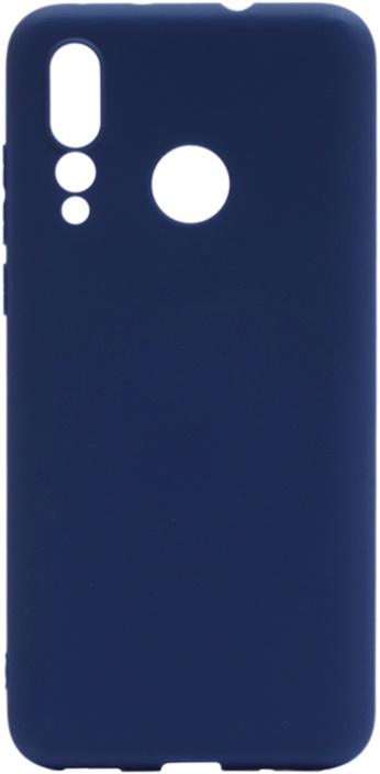Чехол для сотового телефона GOSSO CASES для Huawei Nova 4 Soft Touch dark blue, темно-синий