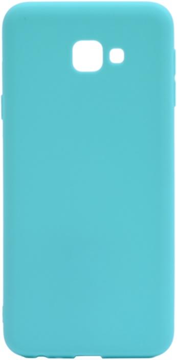 Чехол для сотового телефона GOSSO CASES для Samsung Galaxy J4 Core Soft Touch blue, голубой
