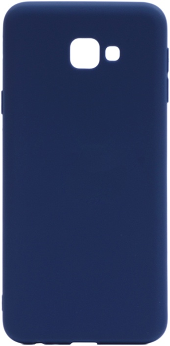 Чехол для сотового телефона GOSSO CASES для Samsung Galaxy J4 Core Soft Touch dark blue, темно-синий