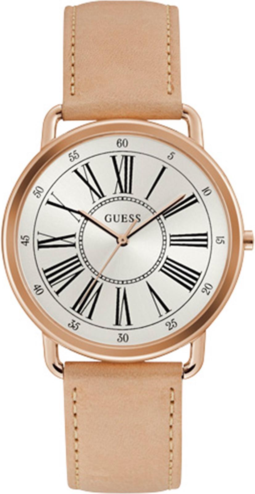 лучшая цена Часы Guess KENNEDY, золотой, бежевый, светло-бежевый