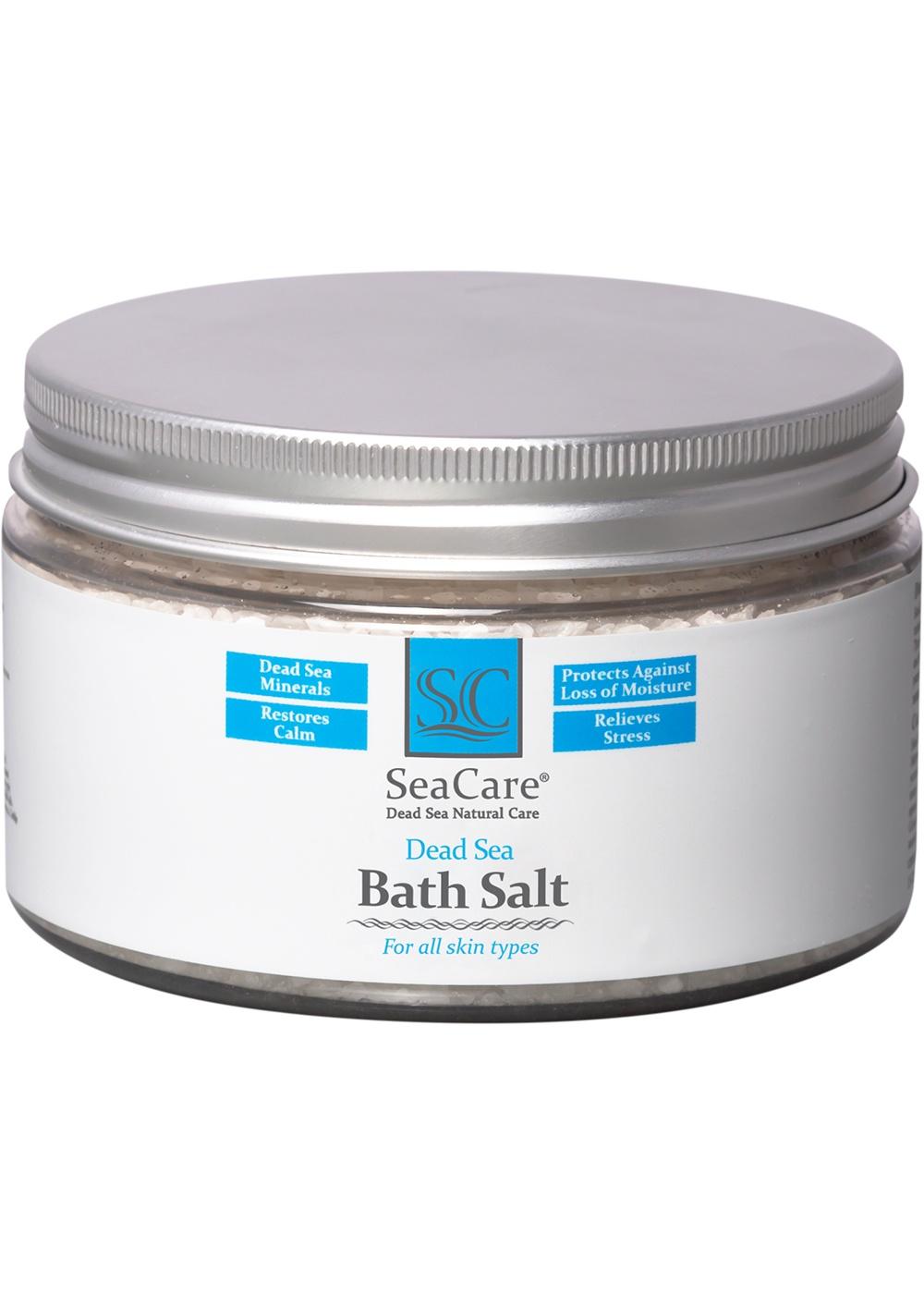 Соль для ванны SeaCare Расслабляющая Мертвого Моря для ванны с восстанавливающим и успокаивающим эффектом, 300 гр, 300