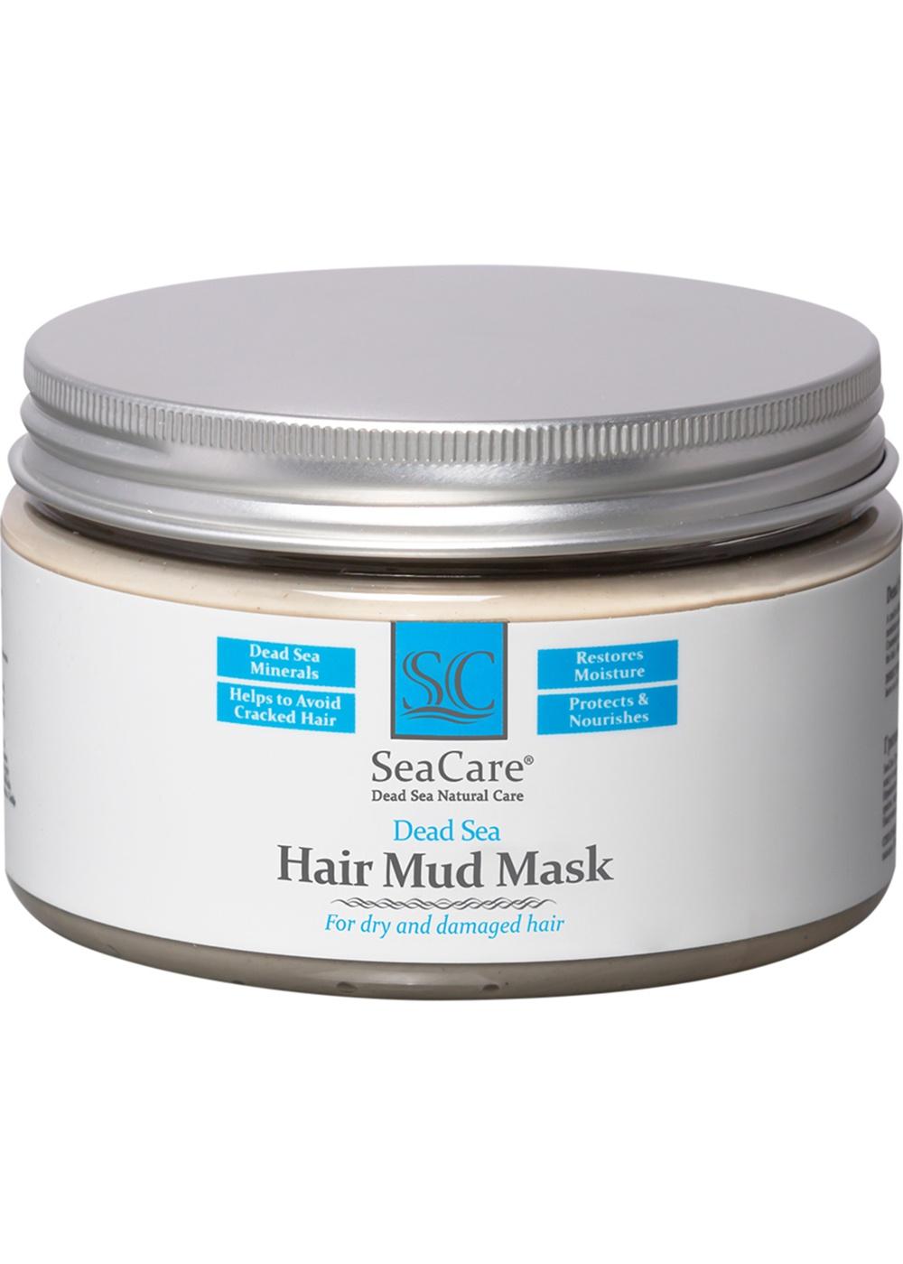 Маска для волос SeaCare Грязевая с минералами Мертвого Моря и растительными экстрактами, 250 гр