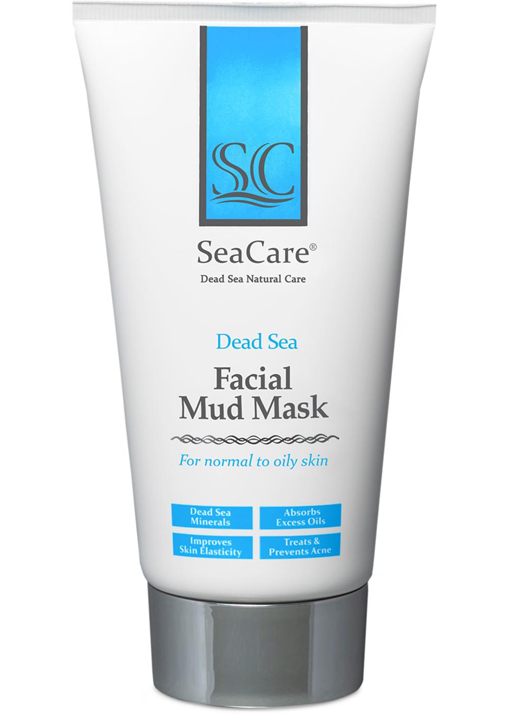 Омолаживающая грязевая маска для лица с минералами Мертвого Моря и растительными экстрактами, 150 мл, SeaCare