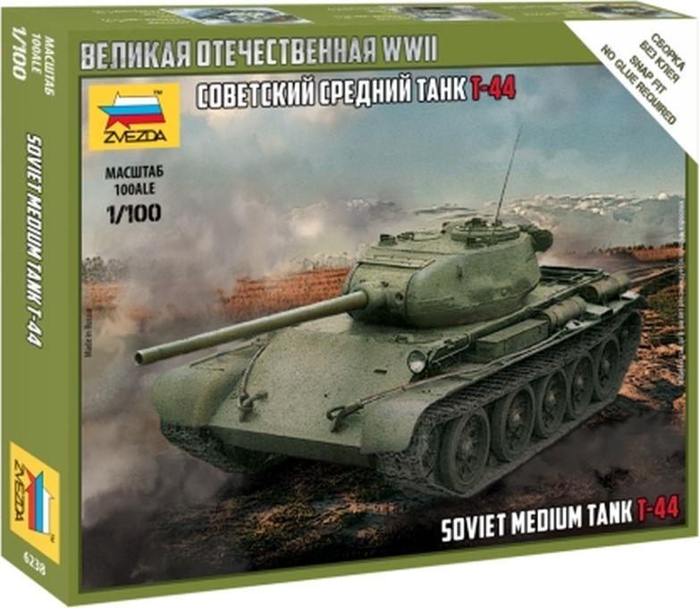 цена на Модель танка Звезда Советский средний танк Т-44, 6238