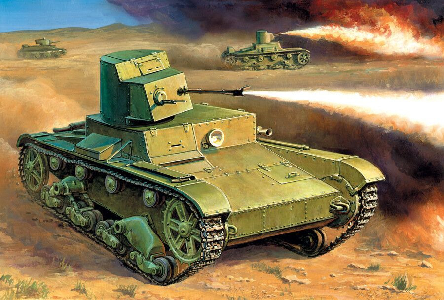 Модель танка Звезда