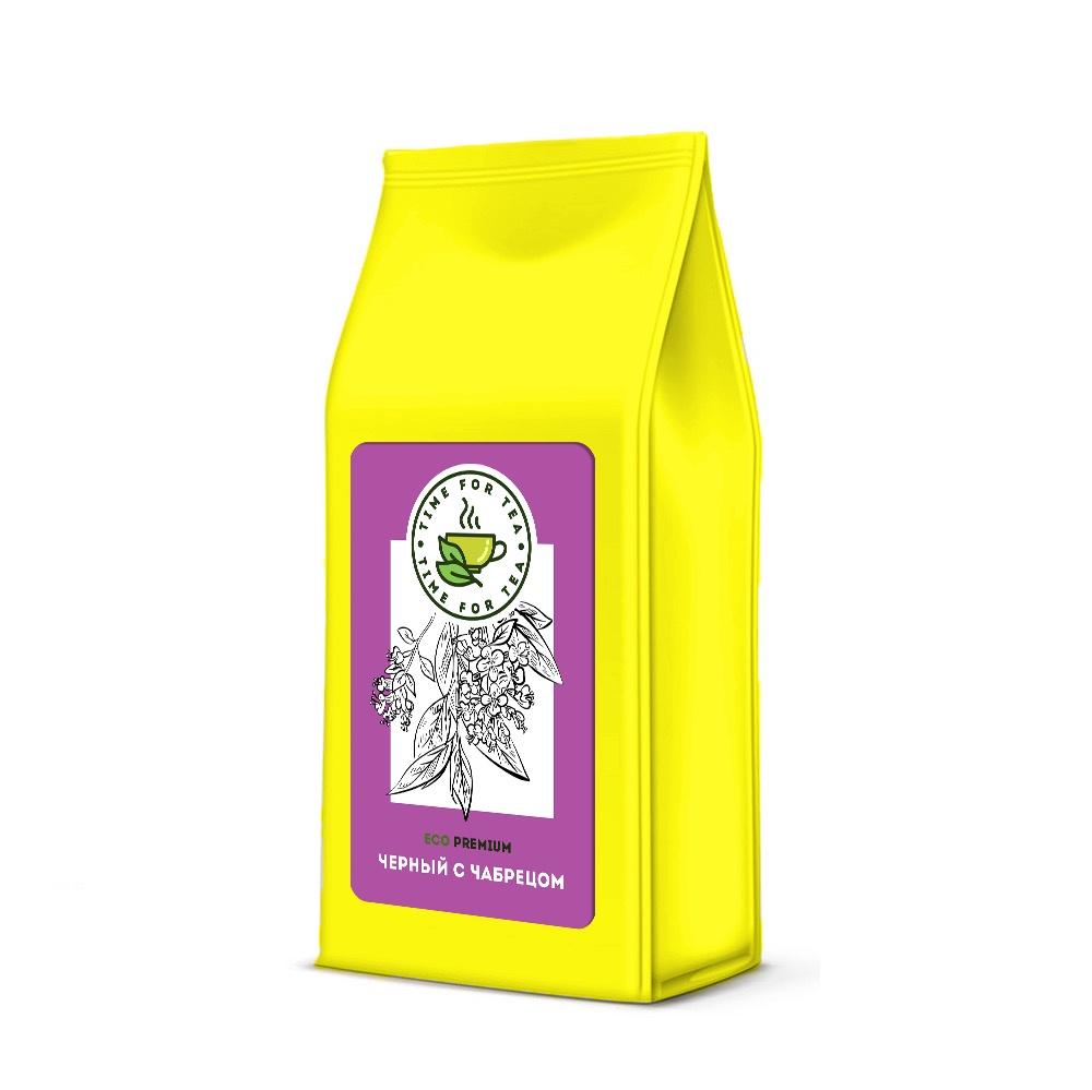Чай листовой Время Чая с Чабрецом ECO PREMIUM, 250 чай листовой время чая клубничный eco premium 250
