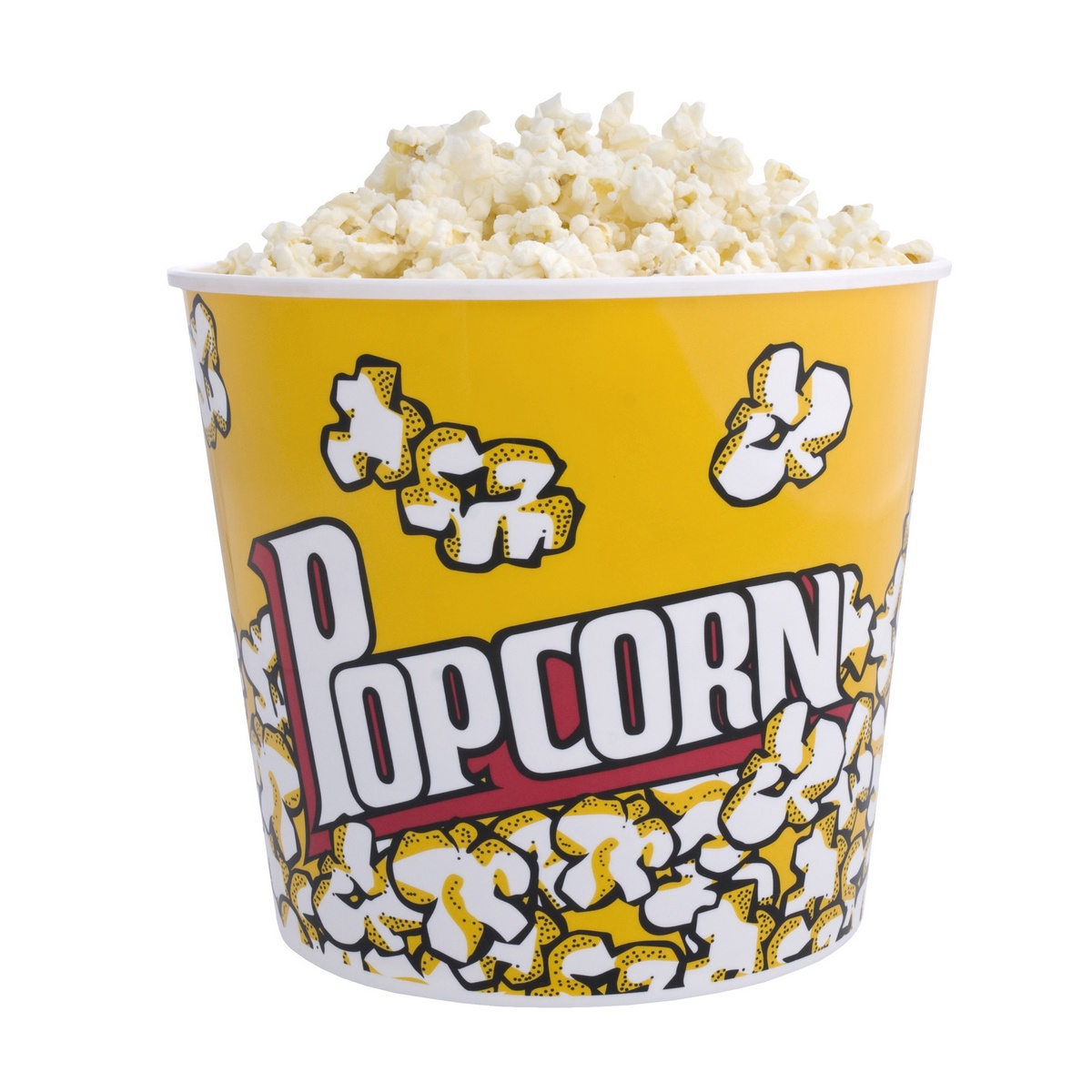 цены Подстаканник Balvi для попкорна Pop Corn, 2,8 л, желтый, белый